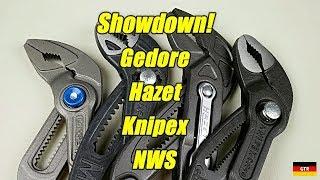 German 250mm/10in Push-Button Slip-Joint Pliers Showdown