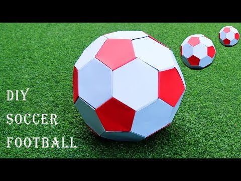 How to make  a paper Soccer football ? origami soccer ball | paper soccer ball | diy soccer ball