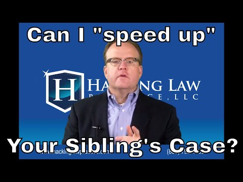Can an immigration attorney speed up my sibling's green card case?