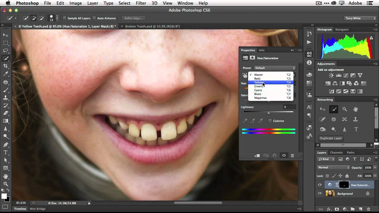 How to fix teeth in adobe photoshop cs6 youtube how to fix teeth in adobe photoshop cs6 baditri Choice Image