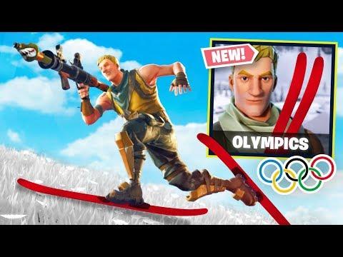 FORTNITE WINTER OLYMPICS!
