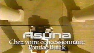 Pub Québec - Asüna Sunrunner - 1992
