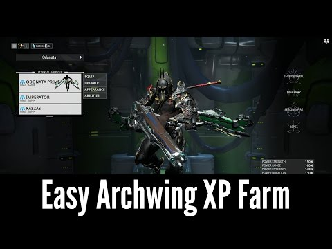 Best Spot for Archwing XP (Warframe)