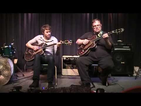 Joe Robinson and Richard Smith Perform a Chet Atkins Classic at Gretsch 130th Ann Event