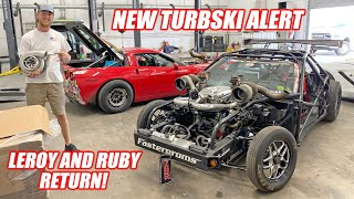 Ruby's Getting the BIGGEST Turbo We've Ever Used + Prepping Leroy to return to Drag Racing!!!