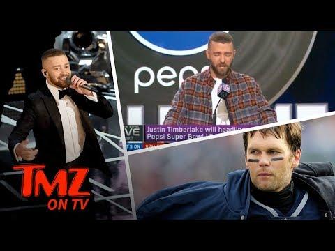Justin Timberlake's Bizarre Press Conference! | TMZ TV