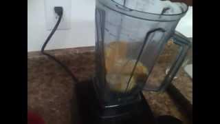 How to make Orange Juice in the Vitamix.