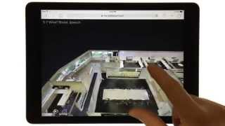 How a Matterport 3D Showcase of CRE Looks on an iPad