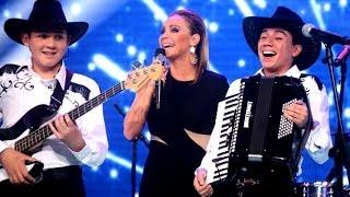 Los jóvenes rancheros de Amanecer deslumbraron con su show -- TALENTO CHILENO 2014