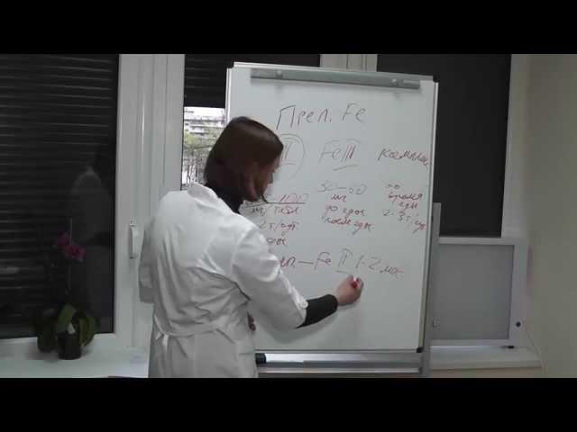 Препараты железа при железо дефицитной анемии