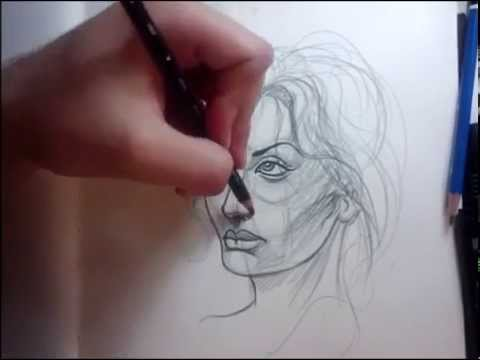 How to draw a female face By thebrokenpuppet