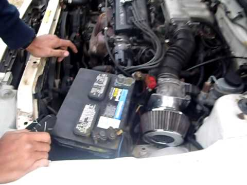 How to change a starter - YouTube