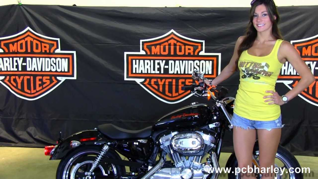 new 2013 harley-davidson xl883l sportster superlow for sale in