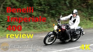 Benelli Imperiale 400 review (4K) - Onroad.Bike