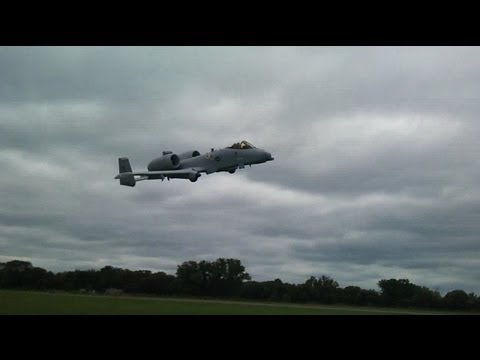 A-10 Double Low Pass at 2011 Toronto Canadian International Airshow