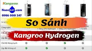 Kangaroo Hydrogen: #KG100HA #KG100HQ #KG100HP #KG100HC #KG100HB - Máy lọc nước RO kiềm Khoáng Gốm✅