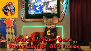 Chuck E.'s Happy Dance Preformance by CEC Florida