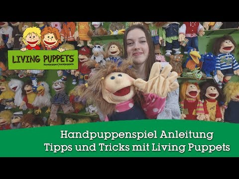 Video: Living Puppets Handpuppen-Set Ernie und Bert