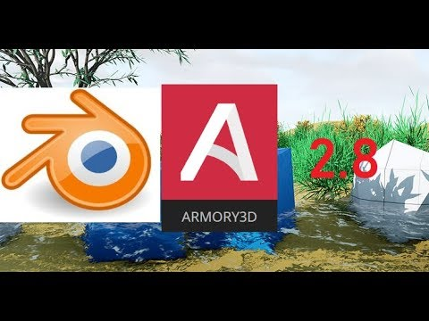 How To Install Armory In Blender 2.8
