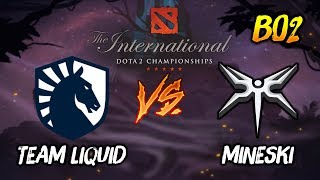 Team Liquid vs Mineski ► The International Dota 2 2019 ( TI9 Day 2 ) 😎 | dota 2