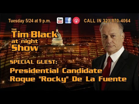 Roque (Rocky) De La Fuente talks Election Fraud and Rigging Tonight