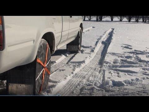 Testing AutoSocks Soft Snow