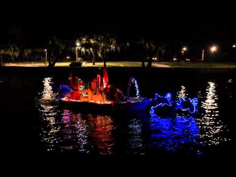 2015 River Of lights Boat Parade New Port Richey