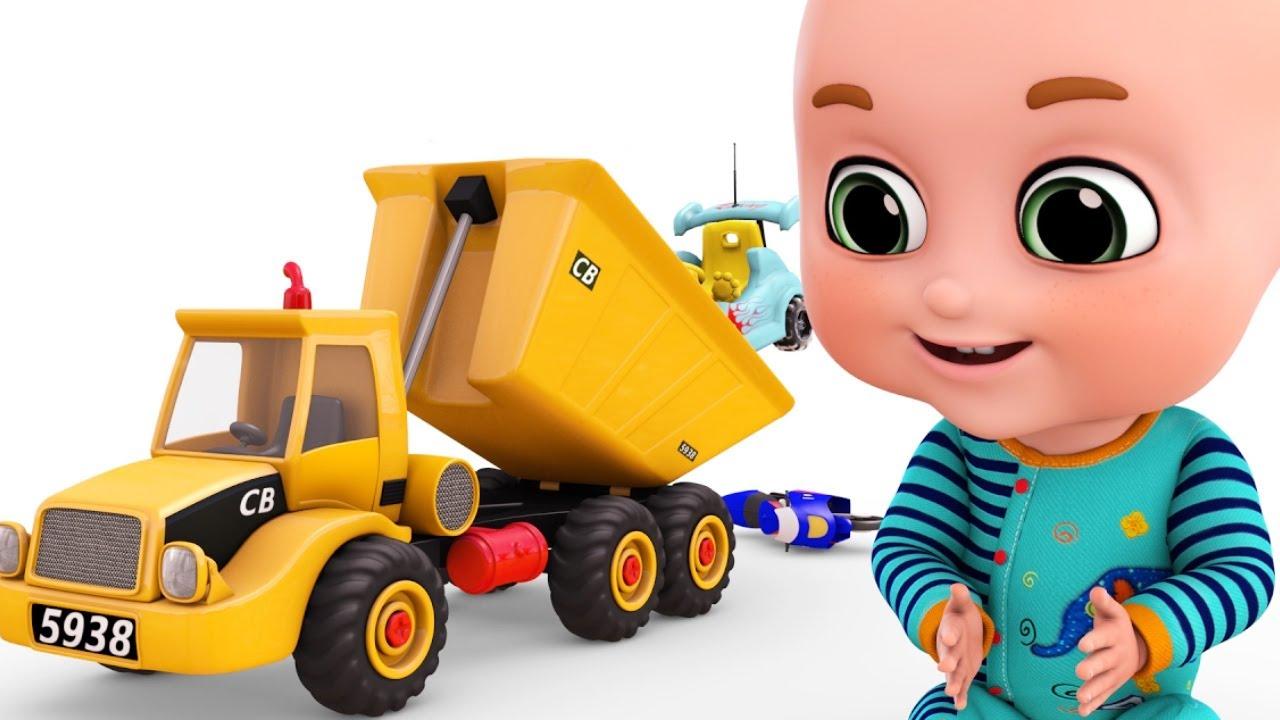 Surprise Eggs Construction Truck For Children New Set