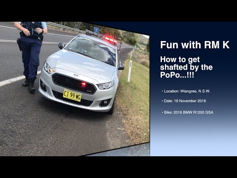 Thumbnail: Police Harassment and Getting screwed when obeying the law...!!!