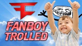 FAZE FANBOY GETS TROLLED! FUNNY BO3 BALLISTIC KNIFE TROLL!