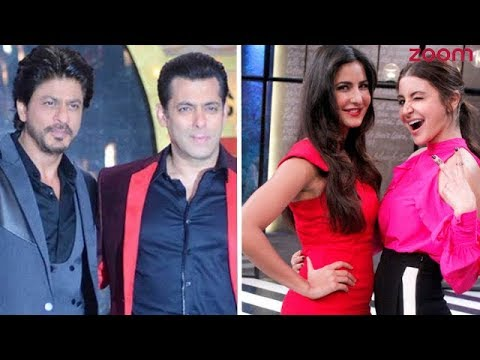 Salman Or SRK, Katrina Or Anushka? | Who Takes The Top Position In December 2017 Times Celebex?