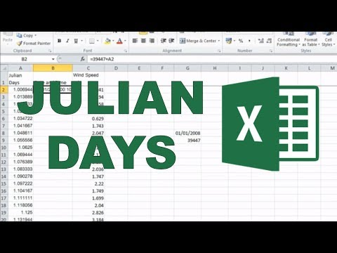 Converting Julian Days into Date and Time?