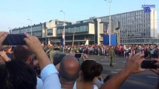 Vojni mimohod - Zagreb 2015 (I. dio)