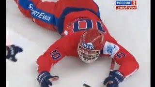 Хоккей с мячом ЧМ 2015, финал Швеция  Россия 3:5