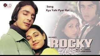 Kya Yahi Pyar Hai - Rocky(1981) HD