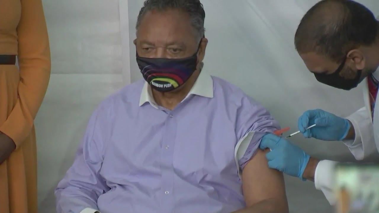 Rev. Jesse Jackson Sr. and Wife Hospitalized After Testing Positive ...