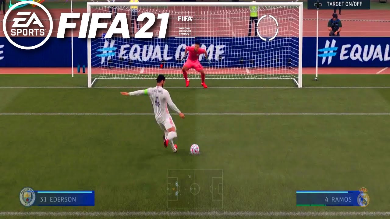 How to take penalties in FIFA 21