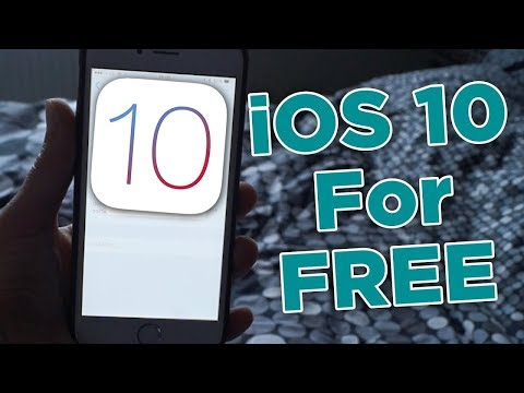 How To Get Ios 10 On IPhone4/4s
