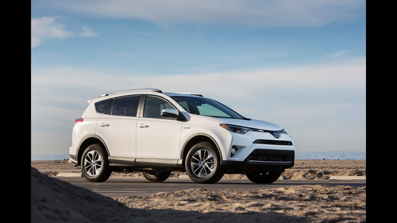 2016 Toyota Rav 4 Hybrid Mpg And 4 Motors Youtube