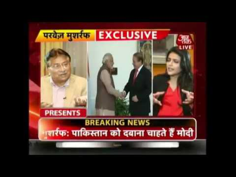 WWW DOWNVIDS NET Exclusive Interview Of Pervez Musharraf With Aajtak After The Uri Attacks