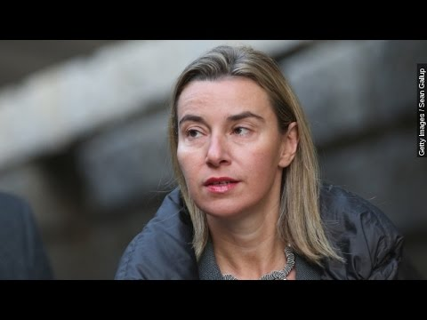 Federica Mogherini Is A Busy Woman