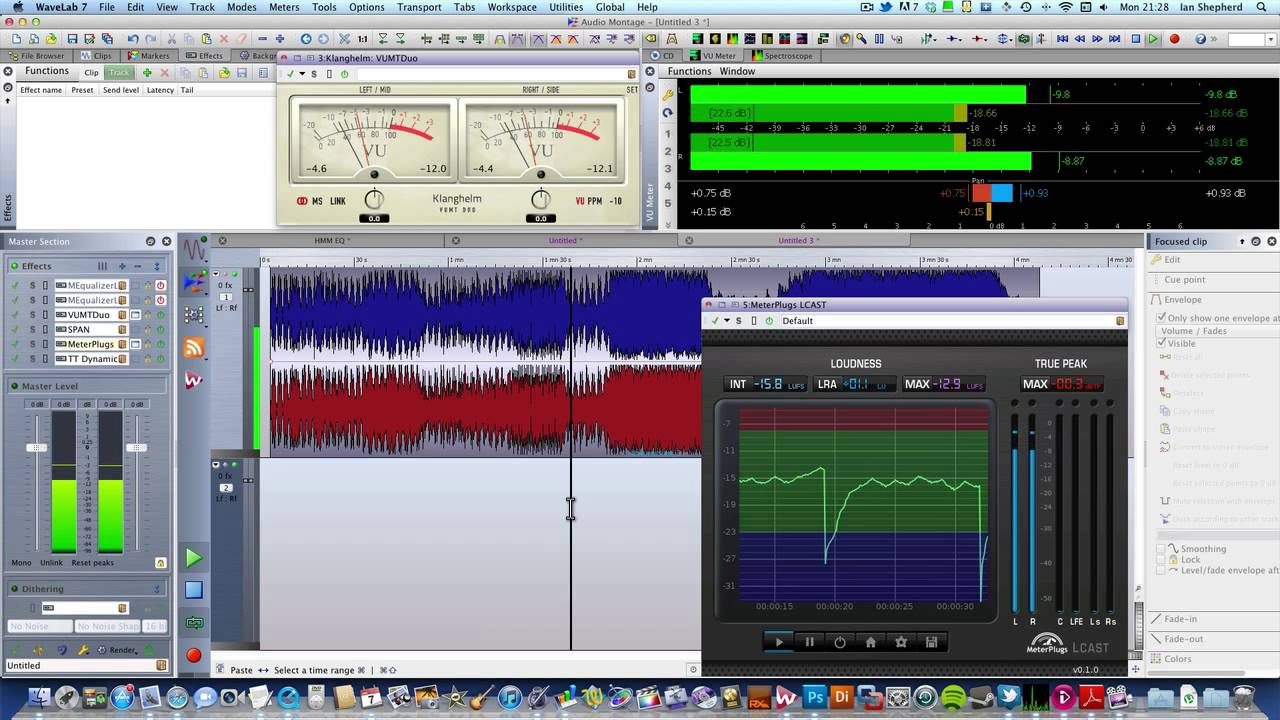 LUFS, dBFS, RMS    WTF ?!? How to read the new loudness meters