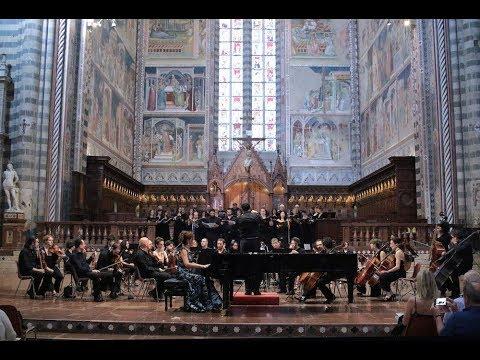 Beethoven Choral Fantasy Op.80 Cristiana Pegoraro Lorenzo Porzio Narnia Festival 2017