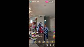 Anderson .Paak shows his Jewelz dance with son on IG Live (April 10, 2020)