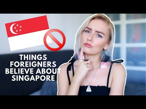 MISCONCEPTIONS FOREIGNERS HAVE ABOUT SINGAPORE! 🇸🇬