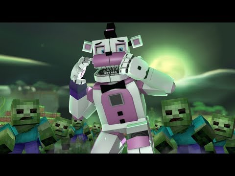 Inside the Mind of Freddy- Zombie Outbreak- Minecraft FNAF Roleplay