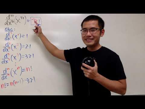 Pi-th Derivative Of X^pi