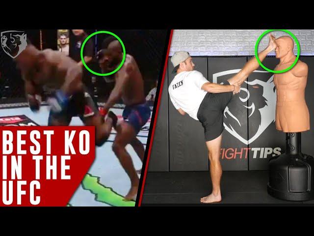 Best KO in UFC Breakdown - Joaquin Buckley's Jump Back Kick