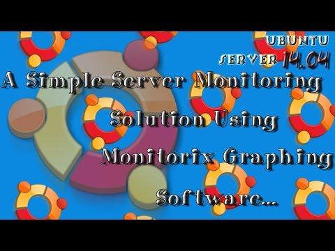 Simple Monitoring Solution for Ubuntu Server 14.04