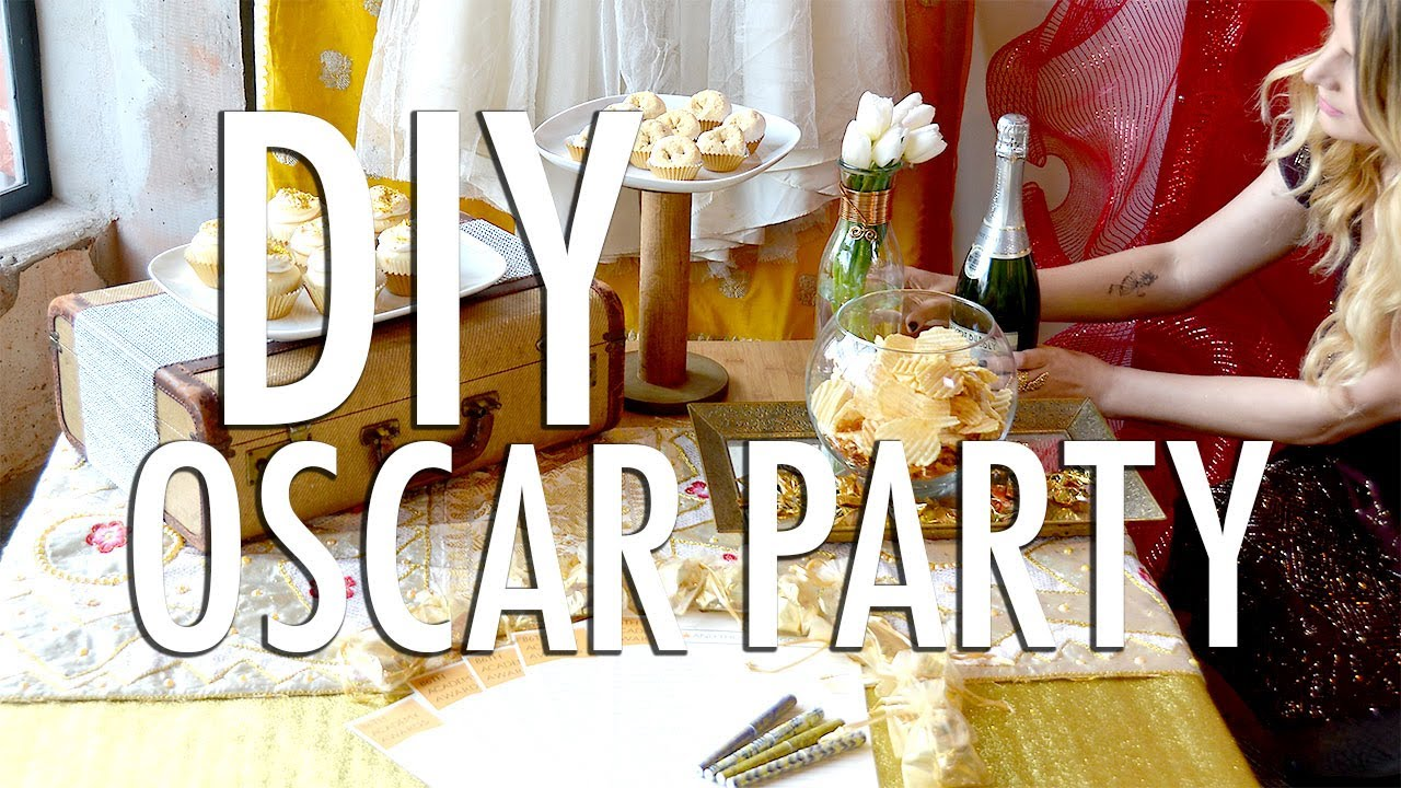 DIY Oscar Party YouTube